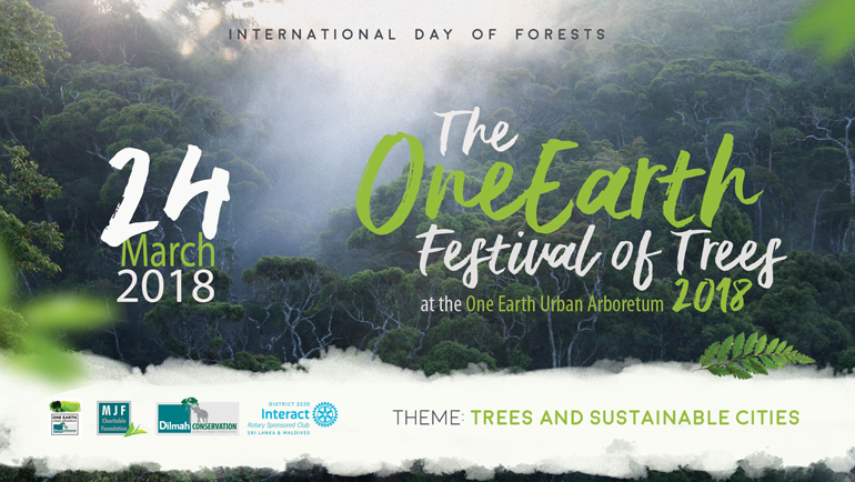 The One Earth Festival of Trees 2018