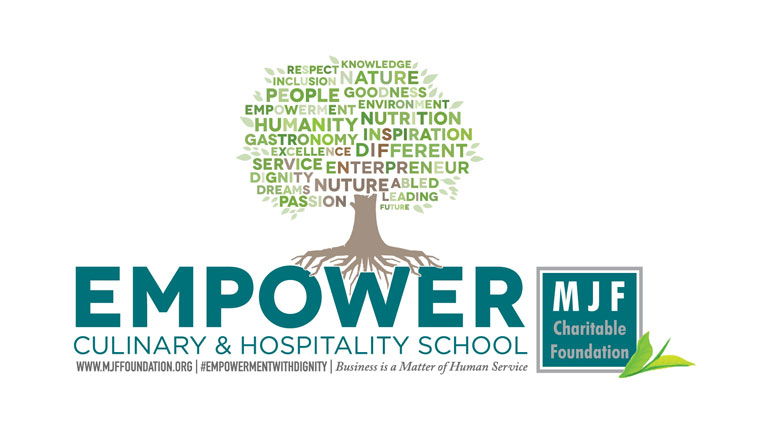 The opening of Empower Culinary and Hospitality School at MJF Centre, East