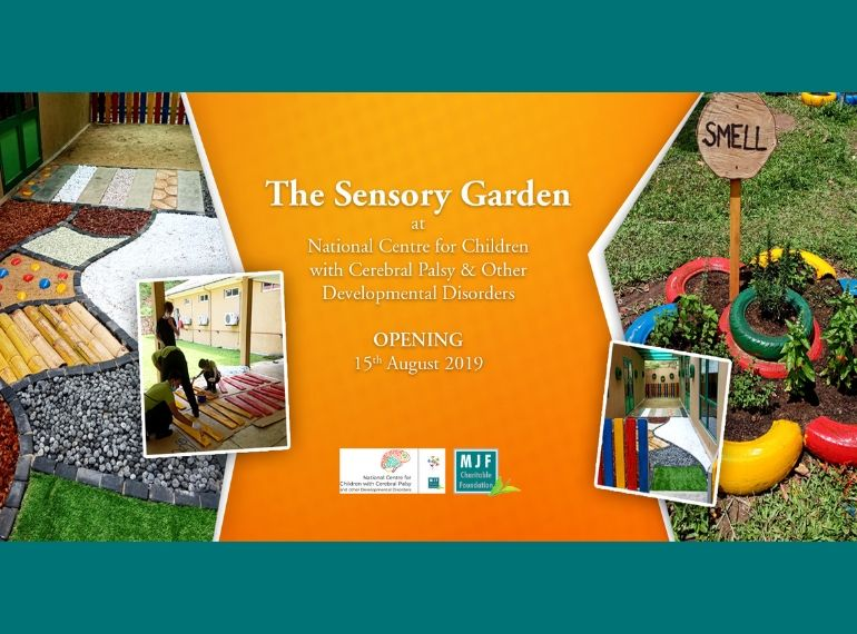 Opening of The Sensory Garden
