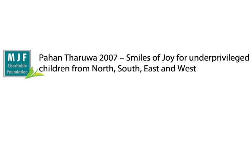 Pahan Tharuwa 2007 – Smiles of Joy for underprivileged children from North, South, East and West