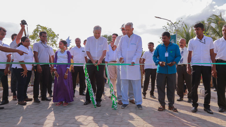 MJF Centre for Dignified Empowerment and Sustainable Development inaugurated in Kalkudah