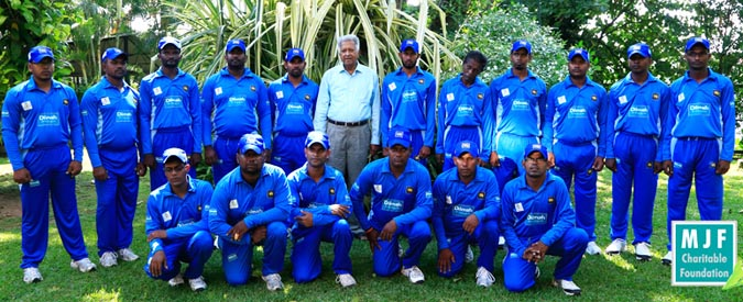 Sri Lanka National Blind Cricket team ready for Pakistan cricket tournament