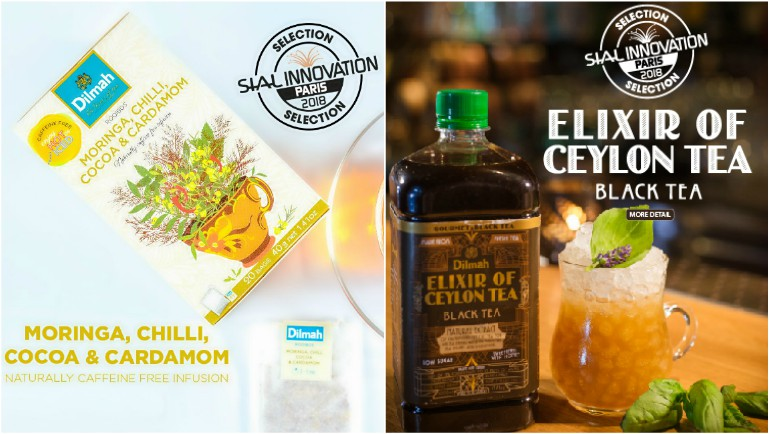 Dilmah Natural Infusions and Elixir of Ceylon Tea selected for SIAL Innovation Paris 2018.