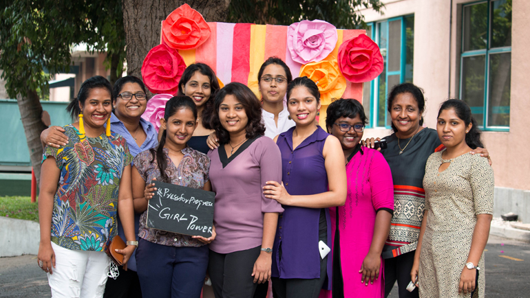 #PressforProgress - Women's Day Celebrations at Dilmah.