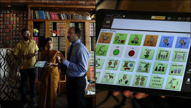 First Augmentative and Alternative Communication App in Sinhalese Launched