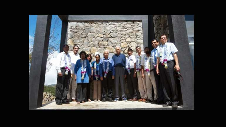 Dilmah Opens First Private Sector Initiated Climate Change Research Station