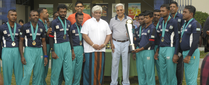 Illuminating the talents of visually impaired cricketers