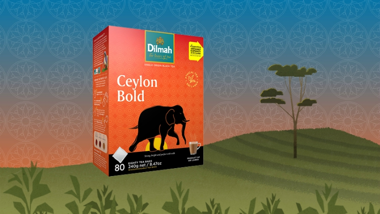 Ceylon Bold Tea and the Elephant Transit Home