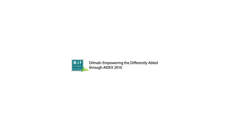 Dilmah: Empowering the Differently Abled through AIDEX 2010