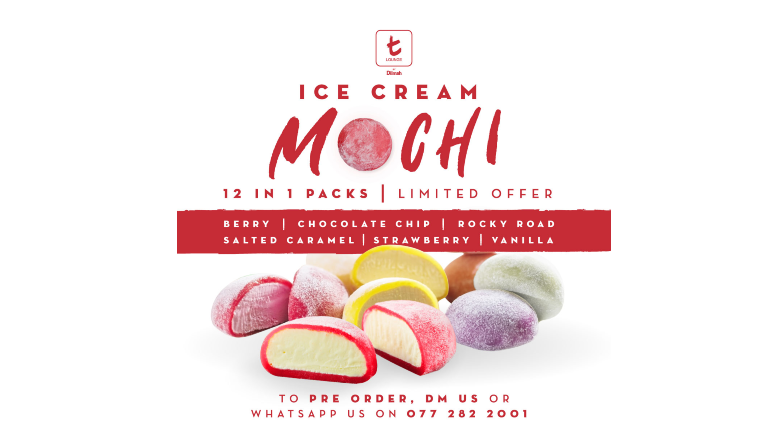 t-Lounge by Dilmah has brought back their famous mochis – but this time, in the...