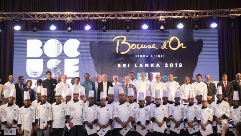 "Team Sri Lanka for ""Bocuse d'Or"" - The Olympics of the Culinary World."