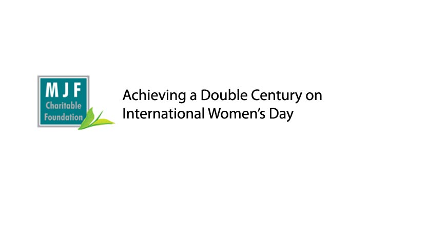 Empowering Women – Achieving a Double Century on International Women's Day