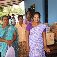 MJF Foundation empowers war affected women in Batticaloa