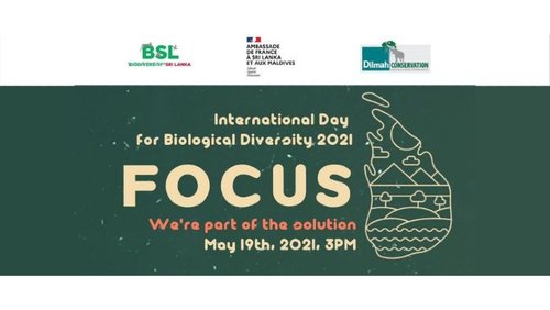 IN CELEBRATION OF THE INTERNATIONAL DAY FOR BIOLOGICAL DIVERSITY 2021 - 'WE'RE PART OF THE SOLUTION'