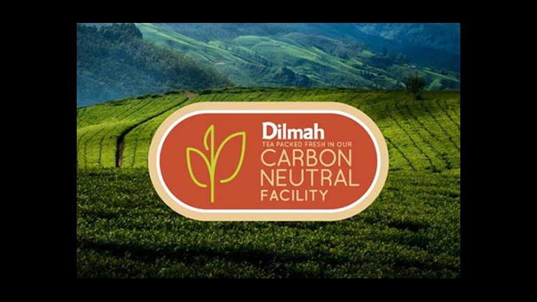 Dilmah Tea Packed Fresh in our Carbon...