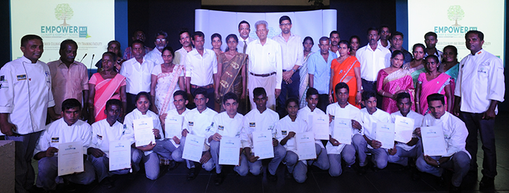 Empower Culinary & Hospitality School's inaugural  graduates felicitated in international event
