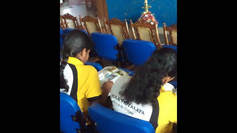 Dilmah Conservation Celebrates World Water Day with the Nature Club of Visakha Vidyalaya