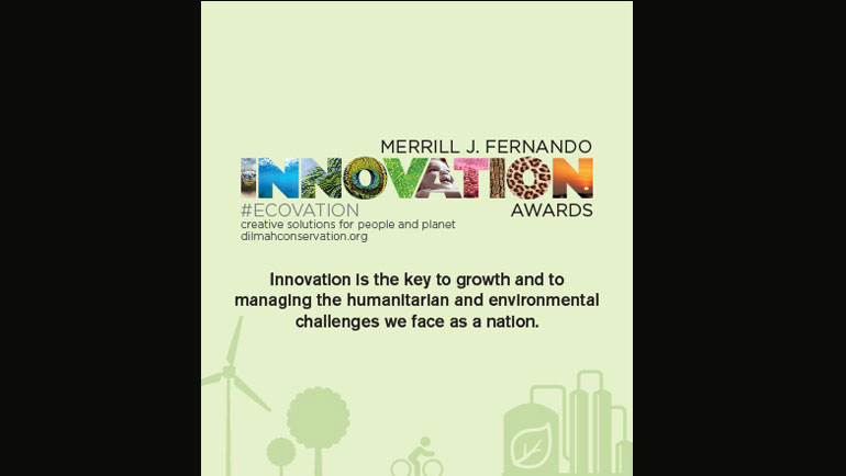 Merrill J. Fernando Eco-Innovations Award Applicants Shortlisted