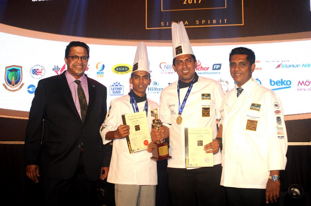 The story of a Bocuse d'Or Sri Lanka Gold Medallist – from unemployed to culinary role model in 8 months