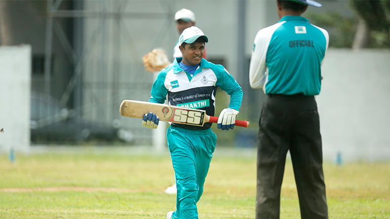 Team Ranaviru Sevana emerges champions of the 6th Dilmah Challenge Trophy National Blind Cricket Tournament Finals