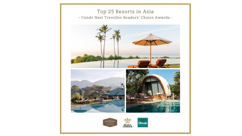 Conde Nast Traveler, the bible of luxury travel, announced their 2021 Readers' Choice Awards. Registered...