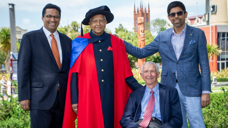 Dilmah founder Merrill J. Fernando's work recognized with NZ doctorate