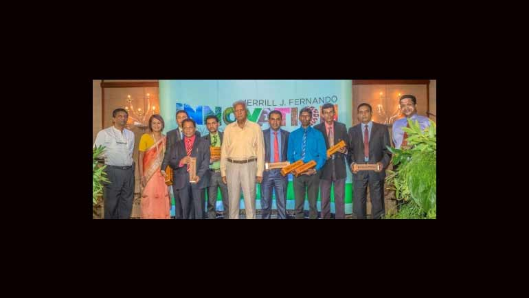 Eight Outstanding Innovations Awarded by the Merrill J. Fernando Eco-Innovation Awards