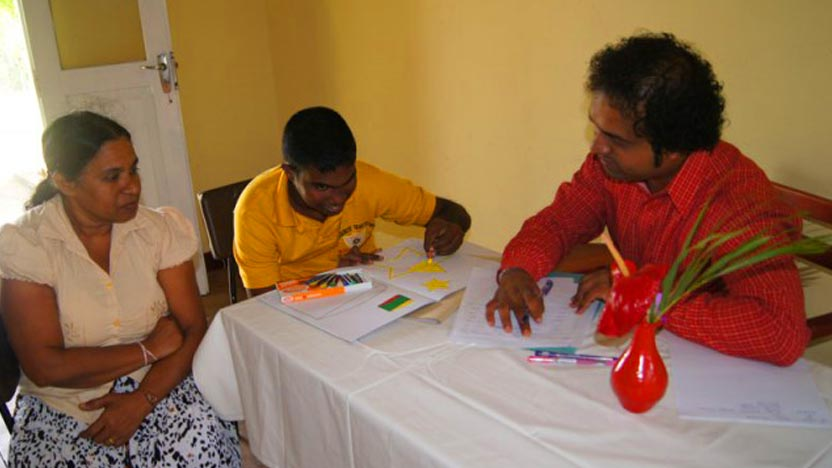 MJF Sithijaya Centre for the differently-abled recommences its operation in Ambalantota