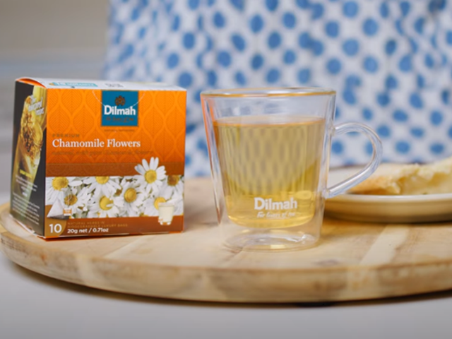 Flowers in your tea bag? That's exactly what you'll find...