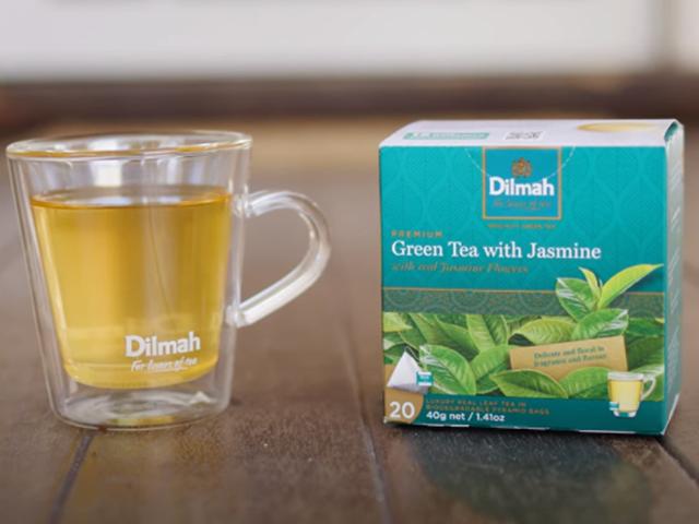 Why Simon Toohey Loves Green Tea with Real Jasmine Flowers...
