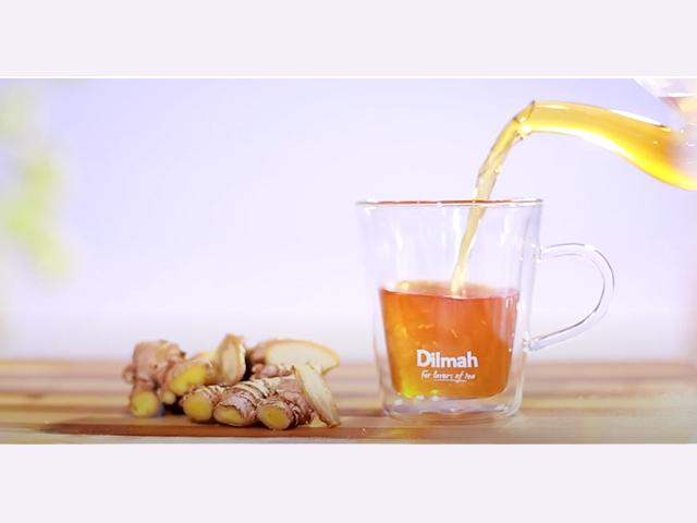 Dance moves inspired by Dilmah Ginger Tea