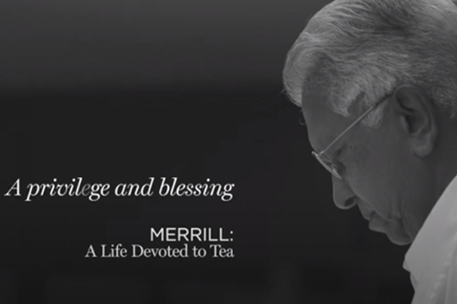 Merrill: A Life Devoted to Tea- Blessing and a Privilege