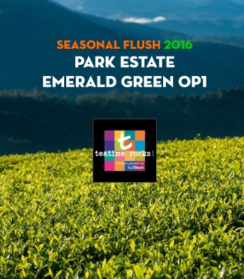 Seasonal Flush 2016 - Park Estate Green Tea - Presentation