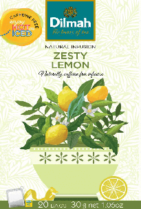 Natural Infusion Zesty Lemon