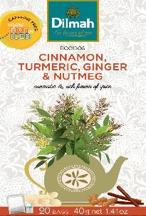 Rooibos Cinnamon, Turmeric, Ginger & Nutmeg