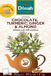 Red Rooibos Chocolate, Turmeric, Ginger & Almond