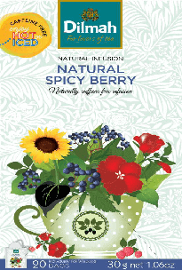 Natural Infusion Natural Spicy Berry