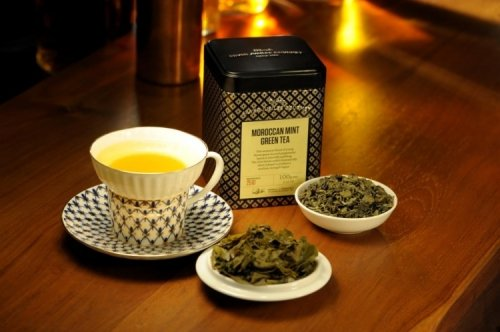 Silver Jubilee Moroccan Mint Green Tea