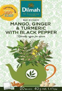 Red Rooibos Mango, Ginger & Turmeric with Black Pepper