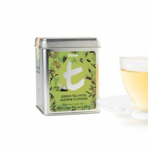t-Series Green Tea with Jasmine Flowers