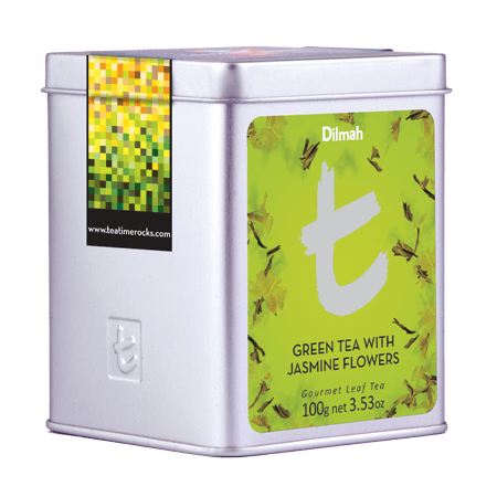 Green Tea with Jasmine Flowers