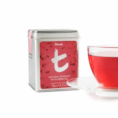 t-Series Natural Rosehip with Hibiscus