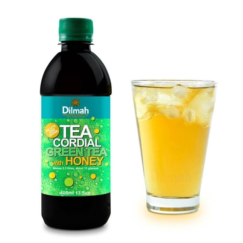 Green Tea With Honey Cordial