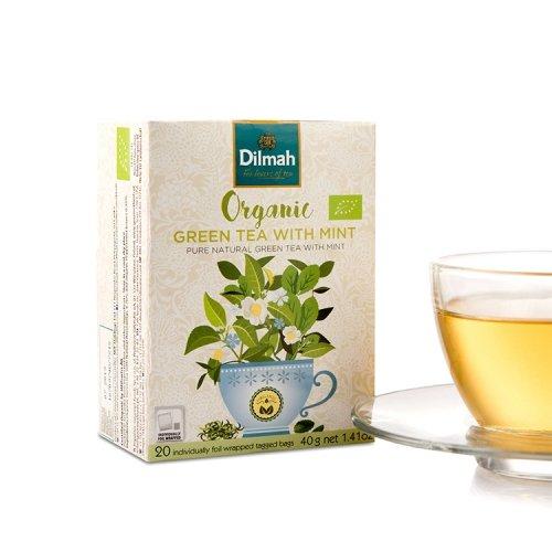 Organic Green Tea with Mint