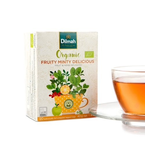 Organic Fruity Minty Delicious