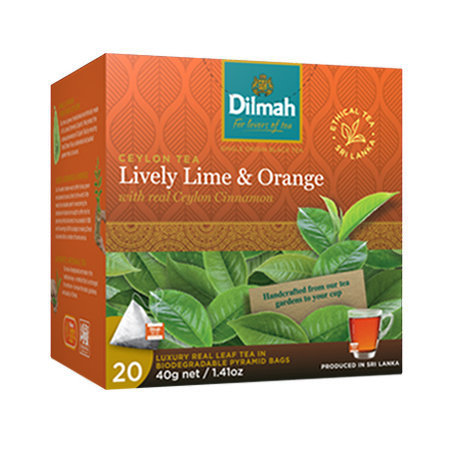 Lively Lime & Orange