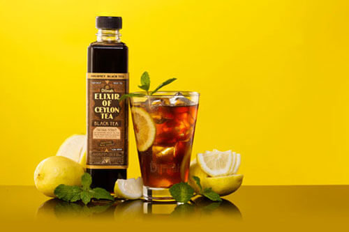 Black Tea with Lemon &  Mint Mocktail