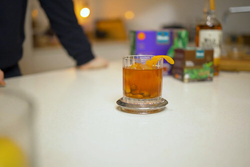 Dilmah Italian Almond Tea Old Fashioned
