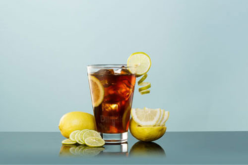 Black Tea with Lemon & Lime Mocktail