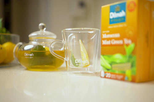 Dilmah Moroccan Mint Green Tea Hot Toddy